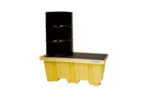 2 Drums Spill Containment Pallet