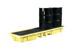4 Drums Spill Containment Pallet